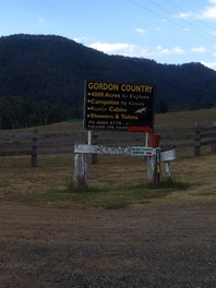 Gordon Country Sign