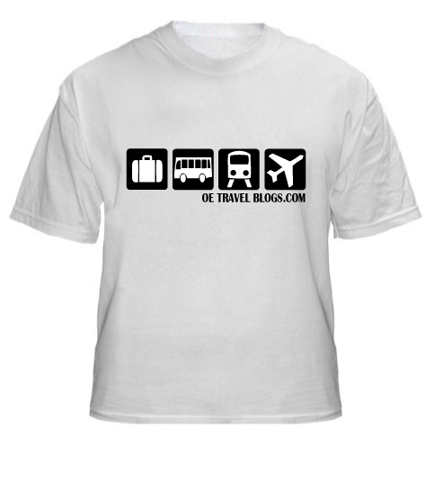 Travel accessories oe travel blogs for Travel t shirt design ideas
